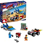 LEGO Movie 2 4+ Emmet and Benny's 'Build and Fix' Workshop! 70821 Playset Toy