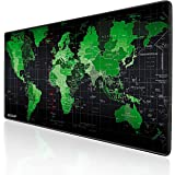 Green World 900 * 400 Mouse Pad EXCO Thick Smooth Extra Large Gaming Mat Surface Non-Slip Thick, Comfy, Foldable Mat for Desk