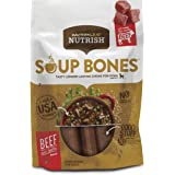 Rachael Ray Nutrish Soup Bones Beef and Barley Dog Treats, 6 Count