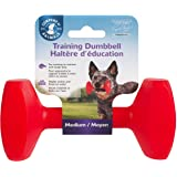 The Company Of Animals 21250A Clix Training Dumbbell for Dogs, Medium, Red