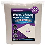"""Polishing Filter Pad 100 Micron - 1 Pack -Superior Aquarium Prefilter Media - Cut to Fit 24"""" by 36"""" for Fresh Water & Saltwat"""