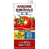 カゴメ トマトジュース(低塩) 1L [機能性表示食品]×6本