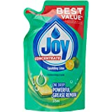 Joy Concentrate Sparkling Lime Dishwashing Liquid Refill, 375ml