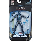 Hasbro Marvel Legends Series 6-inch Collectible Action Figure Iron Man Toy, Premium Design and 3 Accessories, Toys for Kids A
