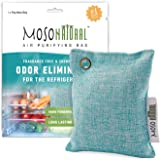 MOSO NATURAL: The Original Air Purifying Bag for Fridge and Freezer. Unscented, Chemical-Free Odor Eliminator. More Powerful