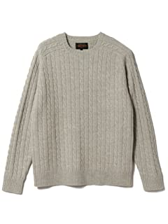 Beams Plus Wool Cable Crewneck Sweater 11-15-0881-103