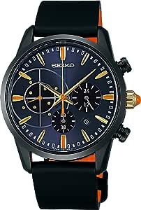 [セイコーウォッチ] 腕時計 スピリット スピリットスマート ジョジョの奇妙な冒険コラボレーション限定モデル NARANCIA ソーラー サファイアガラス SBPY109 ブラック