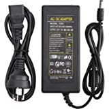 12V 5A Power Adapter AC 100-220V to DC 60W Power Supply AU Plug Switching PC Power Cord for LCD Monitor LED Strip Light DVR N