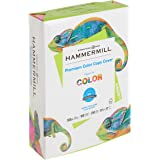 Hammermill Paper, Color Copy Digital Cover, 100lb, 8.5 x 11, Letter, 100 Bright, 250 Sheets / 1 Pack (120024R), Made in The U