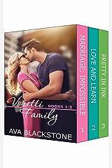 Voretti Family: Books 1-3 (Voretti Family Boxset Book 1) Kindle Edition