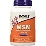 NOW MSM 1000 mg,120 Capsules
