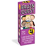 Brain Quest 4th Grade Q&A Cards: 1,500 Questions and Answers to Challenge the Mind. Curriculum-based! Teacher-approved!