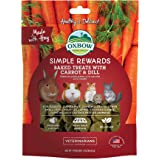 (85g) Oxbow Natural Baked Treats (Carrot & Dill)