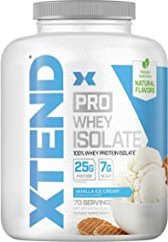 Scivation Xtend Pro, 100% Whey Protein Isolate Powder, Vanilla Ice Cream, 2.27kg