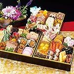 京都「味ま野」監修 平安 おせち 3段重 49品目 4人前 冷凍【12月30日着】
