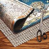 Rug Grippers Rug Pad 2x4 - Non Slip Rug Pad Under Rug Premium Rug Pad for Hardwood Floor Non Slip Carpet Mat Rugs Anti Slip P