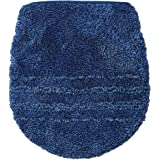セシール トイレふたカバー ネイビー 普通型 抗菌防臭 トイレ用品 CG-252