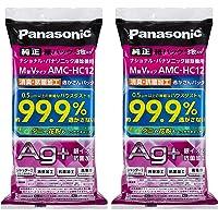 【まとめ買いセット】パナソニック 交換用逃がさんパック 消臭・抗菌加工 M型Vタイプ 6枚入り AMC-HAC12【フラ…