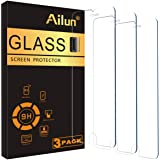 Ailun Screen Protector for iPhone 8 Plus/7 Plus/6s Plus/6 Plus-5.5 Inch 3Pack 2.5D Edge Tempered Glass Compatible with iPhone