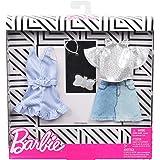 バービー(Barbie) ファッション2パック デニム・スパークル 【着せ替え人形用ドレス アクセサリー】 GHX56