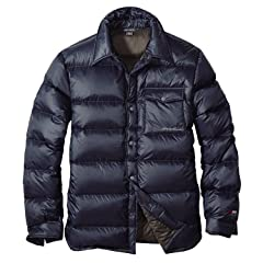 EB900 Fill Power Plus Trail Down Shirt Jacket 019286: Midnight Navy