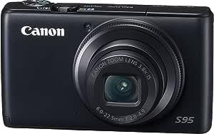 Canon デジタルカメラ Powershot S95 PSS95 1000万画素高感度CCD 光学3.8倍ズーム 広角28mm 3.0型液晶 F2.0