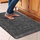 KMAT Kitchen Mat Cushioned Anti-Fatigue Floor Mat Waterproof Non-Slip Standing Mat Ergonomic Comfort Floor Mat Rug for Home,O