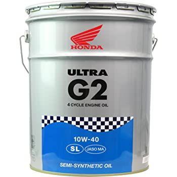 Honda(ホンダ) 2輪用エンジンオイル ウルトラ G2 SL 10W-40 4サイクル用 20L