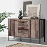 Artiss Sideboard Buffet Table Industrial Storage Cabinet Drawers Cupboard