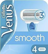 Gillette Venus Shaving Razor Blade Refill 4 Pack, Womens Razors/ Blades
