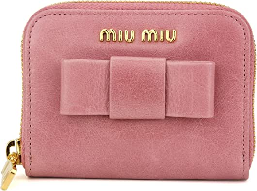 ミュウミュウ(MIU MIU) コインケース 5MM268 2B4R F0025 ヴィッテロ シャイン ピンク [並行輸入品]