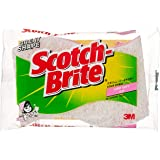 Scotch-Brite Cookware light duty scrub/sponge, Pink 435