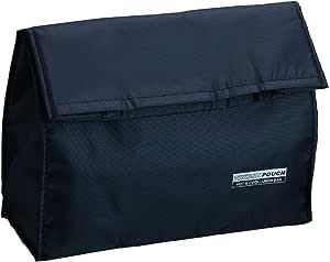 アスベル 保温・保冷ランチバッグ(1段・2段共用) ブラック 3167