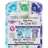 Tulip Tulip One Step Tie Dye Kit: Moody Blues Blue Tie Dye Tie Dye, Moody Blues, 3 Colors, 28 Pieces