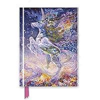 Josephine Wall: Soul of a Unicorn (Foiled Journal) (Flame Tr…