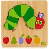 Eric Carle The Very Hungry Caterpillar Wooden 4 Piece Caterpillar Puzzle