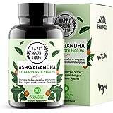 Ashwagandha 2100mg – Fast Superior Absorption – 100% Pure, Potent Organic Ashwagandha Root Powder and Black Pepper - Powerful