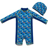 Bonverano Baby boy UPF 50+ Sun Protection One Pieces Swimsuit (18-24 Months)