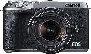 Canon ミラーレスカメラ EOS M6 Mark II (シルバー)・EF-M18-150 IS STM レンズキット