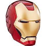 Avengers B7435 Marvel Legends Iron Man Electronic Helmet Gold,red