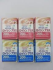 AJINOMOTO メディミル プチ ロイシン プラス 2種類パック (いちごミルク味 ・ バニラ味) × 各3個