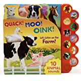 Quack! Moo! Oink! Let's Listen on the Farm!
