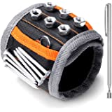 HORUSDY Magnetic Wristband,with Strong Magnets for Holding Screws, Nails, Drilling Bits, of The Best Christmas Day Tools for