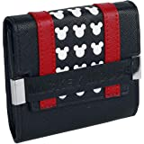 Loungefly x Disney Mickey Mouse Flap Mini Wallet (Black/Red, One Size)