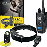 Dogtra ARC HANDSFREE Remote Training Dog Collar - 3/4 Mile Range, Hands Free Remote Controller, Waterproof, Rechargeable, 127