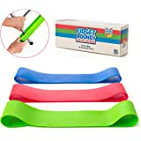Stretchy Resistance Fidget Bands Toy for Kids 3 Pack | Bounce, Kick & Stretch Your Feet | for ADHD, ADD, SPD, Autism & Poor C
