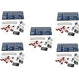 HiLetgo® 5個セット NE555 + CD4017 流水ランプ ライトLEDモジュール DIYキット 電子プロダクションスイート [並行輸入品]