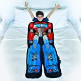 Blankie Tails | Transformers Blanket - Double Sided Super Soft and Cozy Minky Fleece Blanket, Machine Washable Fun No Zipper