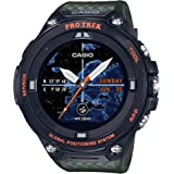 Casio メンズ プロトレック アウトドア GPS 樹脂 スポーツウォッチ グリーン