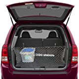 Trunk Storage Net by Lebogner - Car Trunk Organizer, Mesh Net Hammock Cargo Storage Vehicle Organizer with 3 Mounting Options